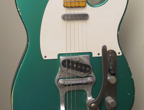 Sherwood Green Telecaster Restoration