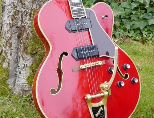 "Gordon L5CTS ""George Gobel"" Project Guitar"