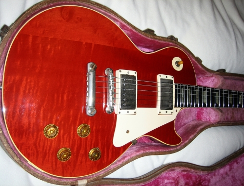 1956 to 1957 Les Paul Conversion