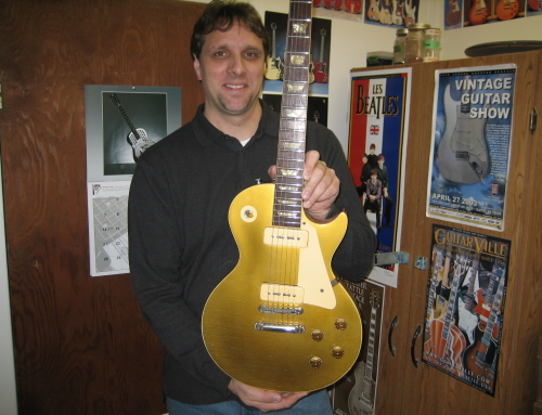 1953 to 1956 Gibson Les Paul Conversion