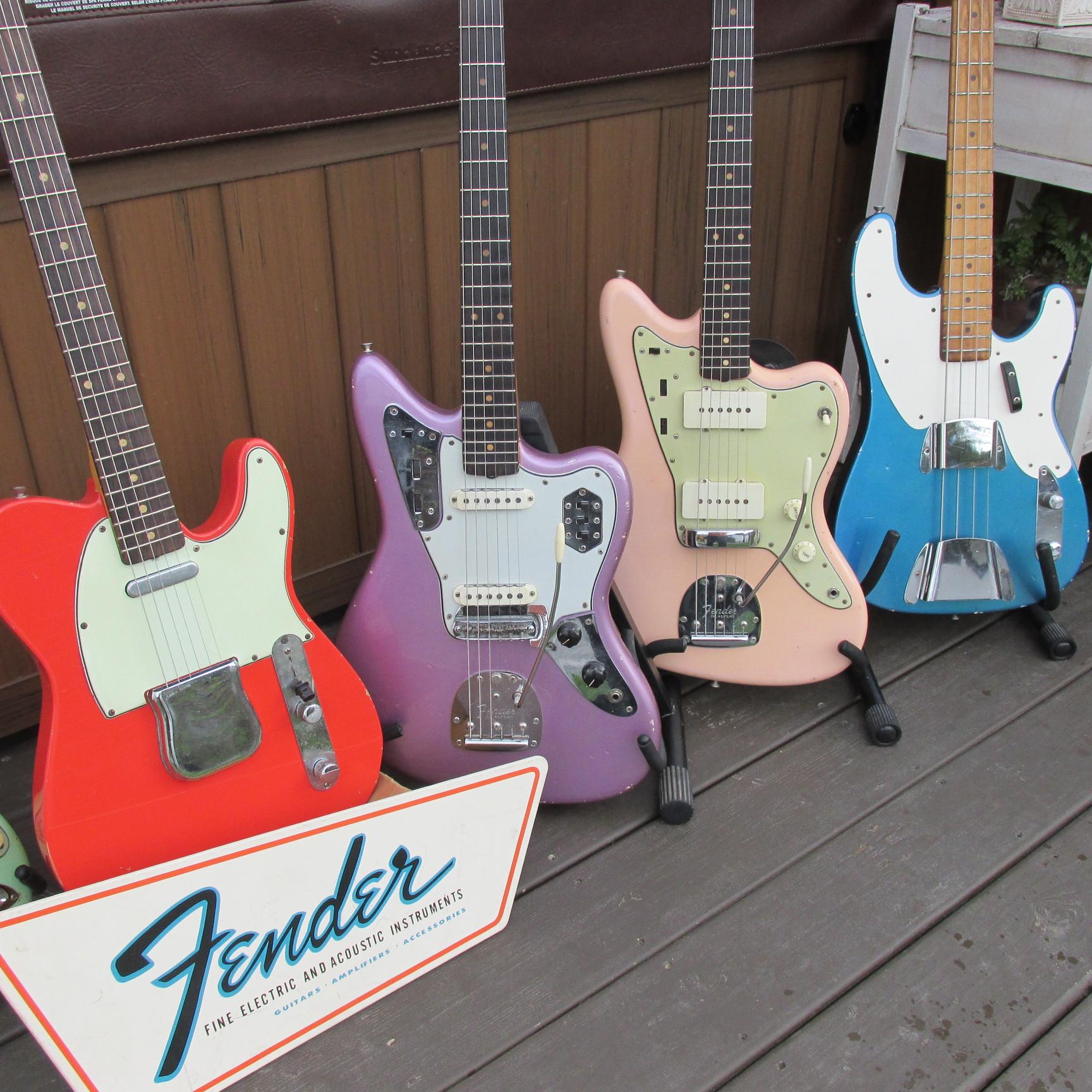 gord miller vintage restorations fender � custom colors