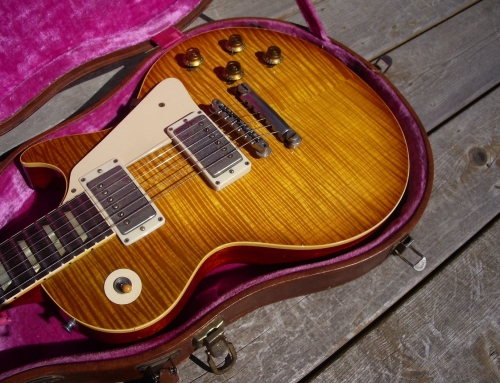 2011 Honeyburst Finish